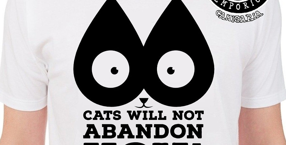 Camiseta Cat Not Abandon