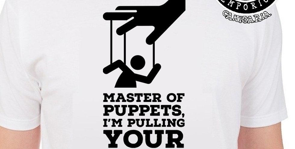 Camiseta Master Of Puppets