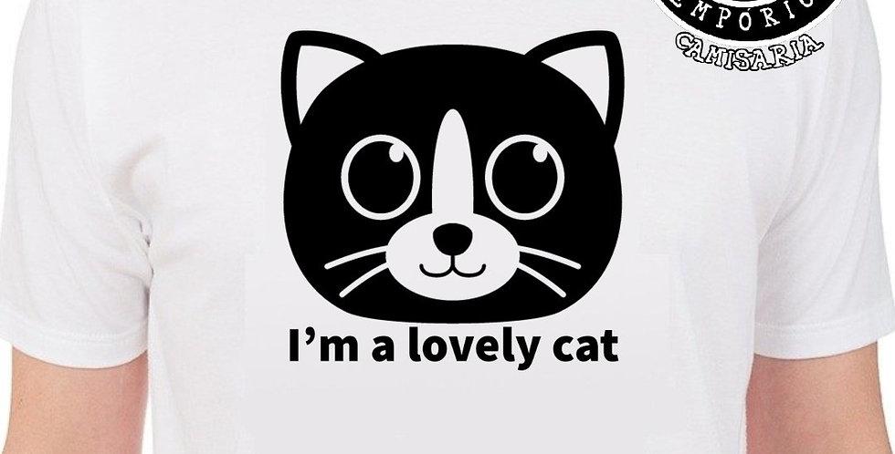 Camiseta Lovely Cat