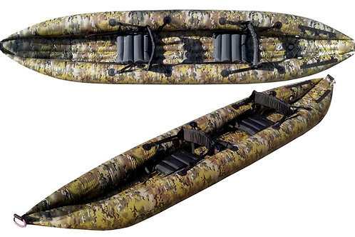 EDGE II Camouflage Inflatable Kayak