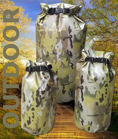 Aqua Xtreme Outdoor Camoflage Dry Bags