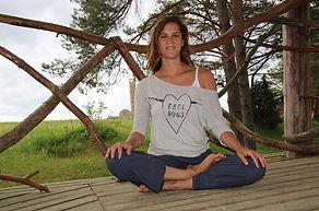 Veranstalterin und Yoga Lehrerin Simone Hänel