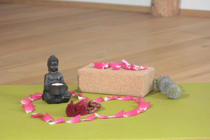 Yogamatte Yogaraum Fränkische Schweiz