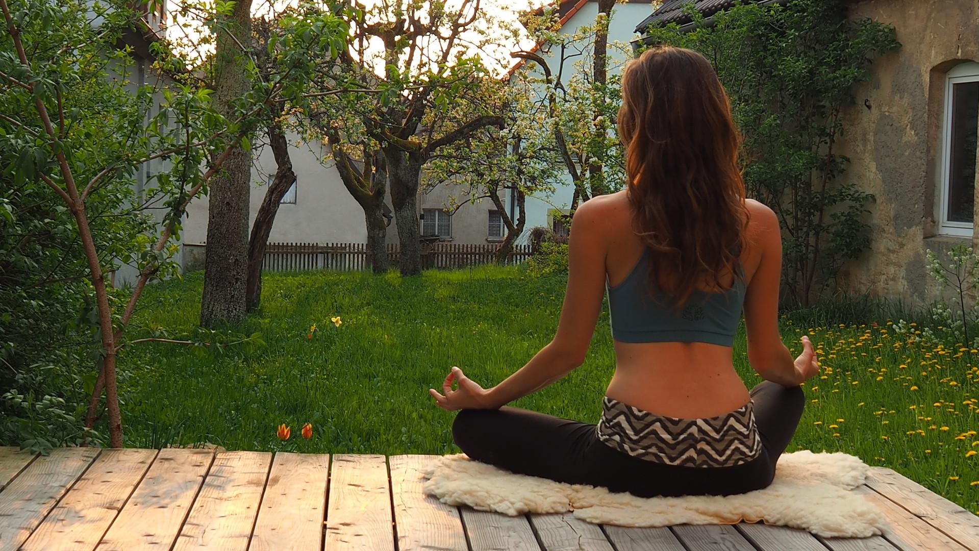 Garten Yogastudio Fränkische Schweiz
