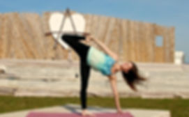 Yoga Simona Amora Naturpark Fränkische Schweiz