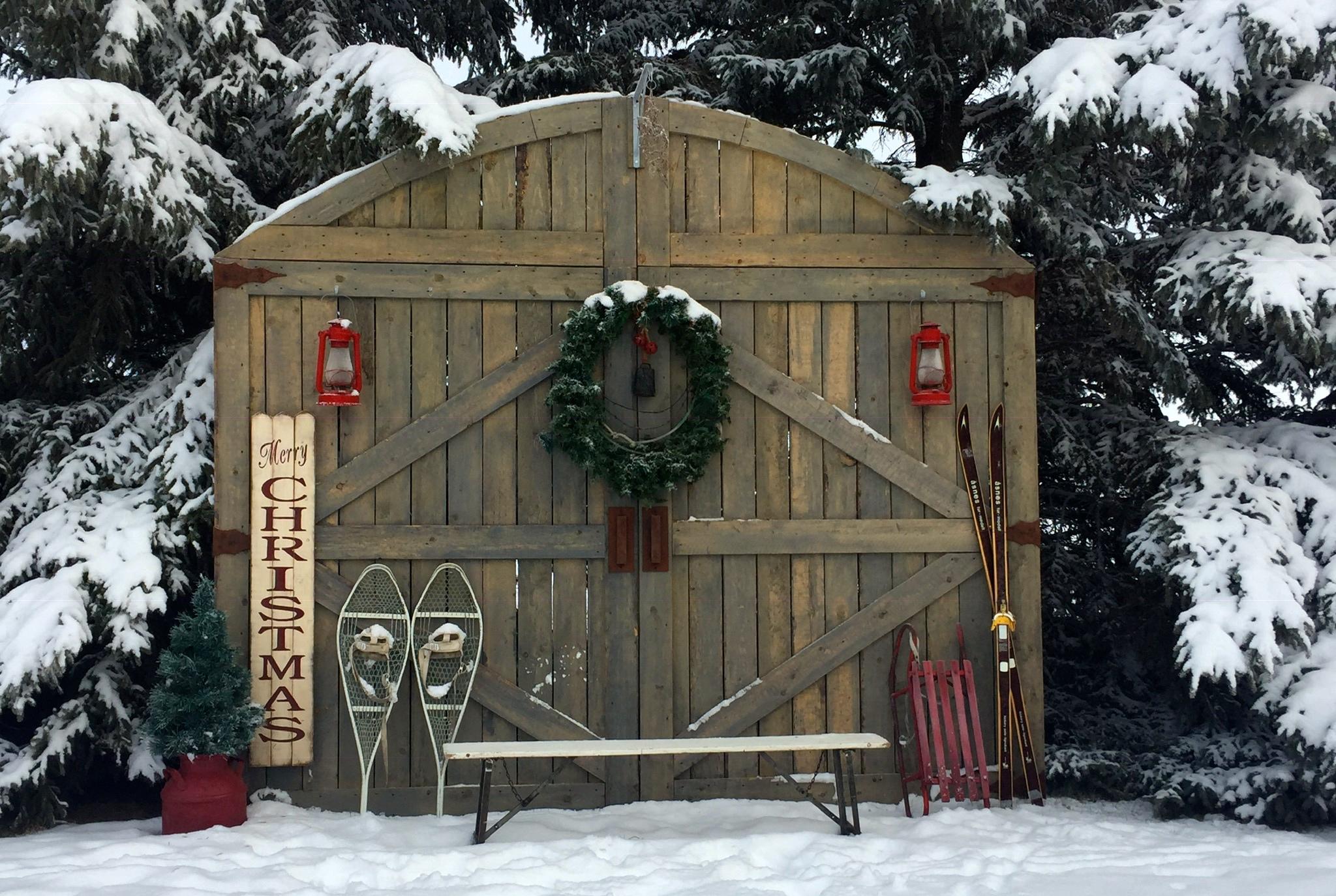 Winter Barn Doors