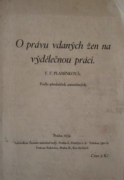 Myšlenky Františky Plamínkové
