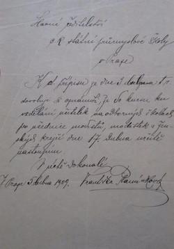 Dopis Františky