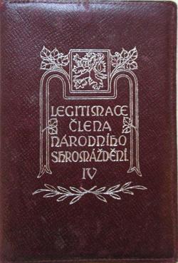 Legitimace - Národní shromáždění