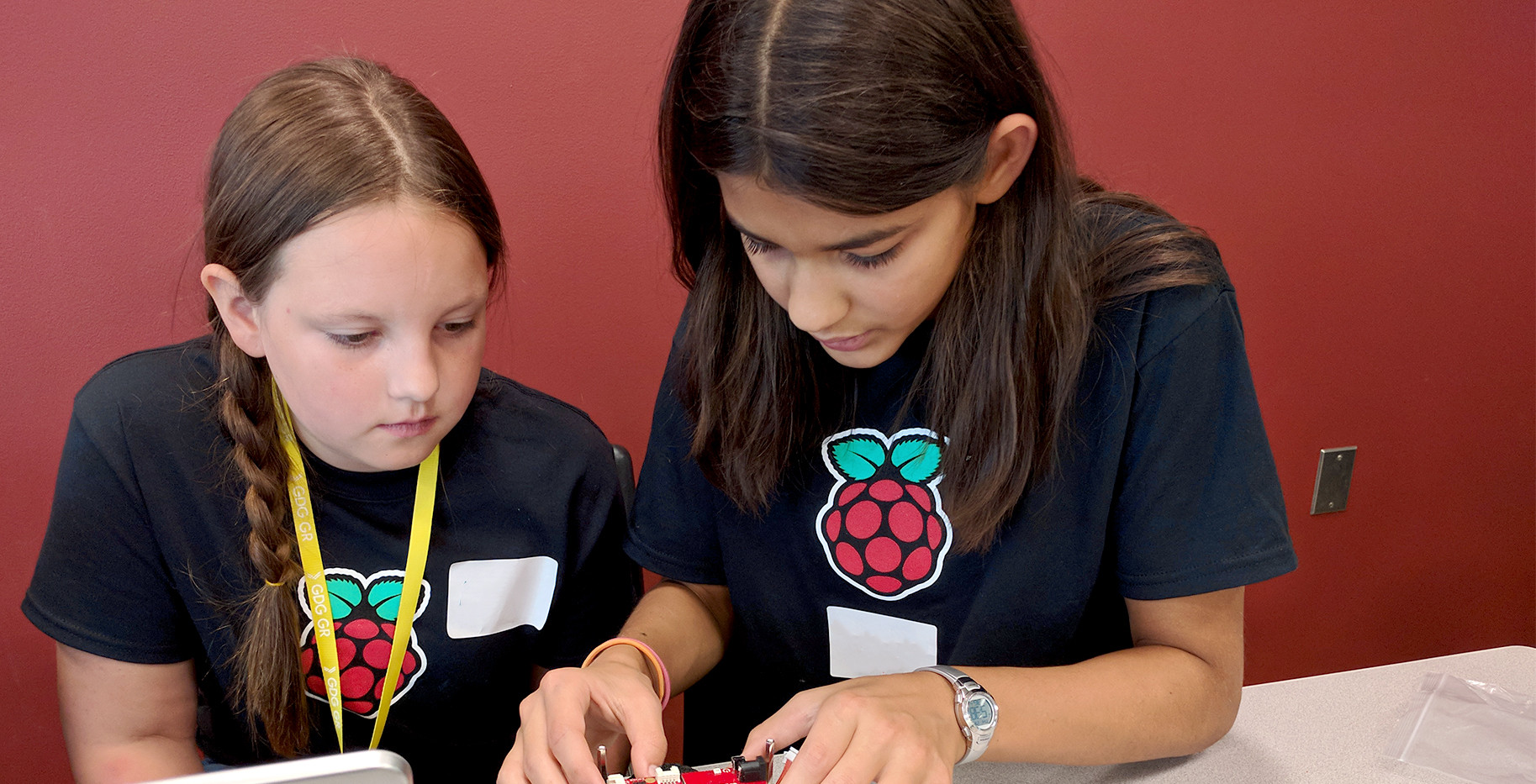 Raspberry Pi in action
