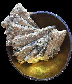 Knäckebröd (crackers suédois)