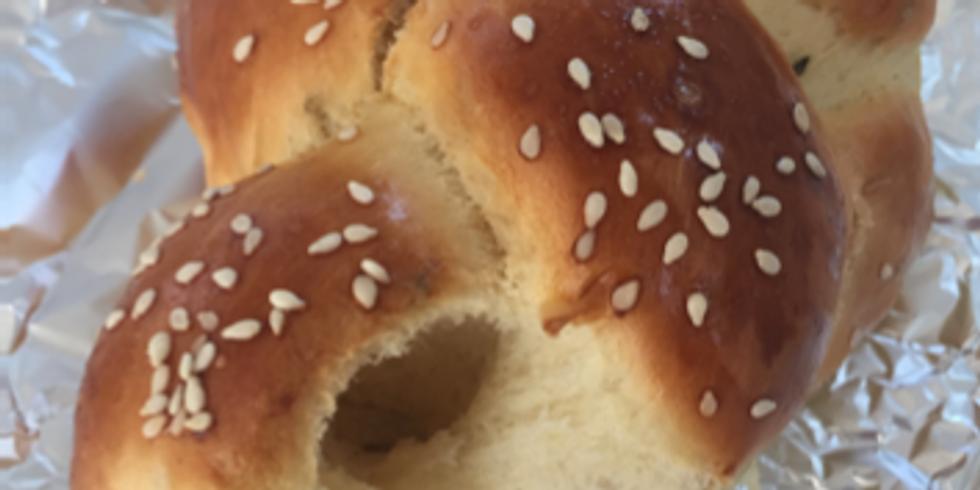 [Atelier Virtuel] HALLAH, pain brioché de tradition juive