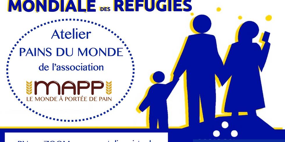 Journée Mondiale des Réfugiés // Atelier virtuel MKHAMER