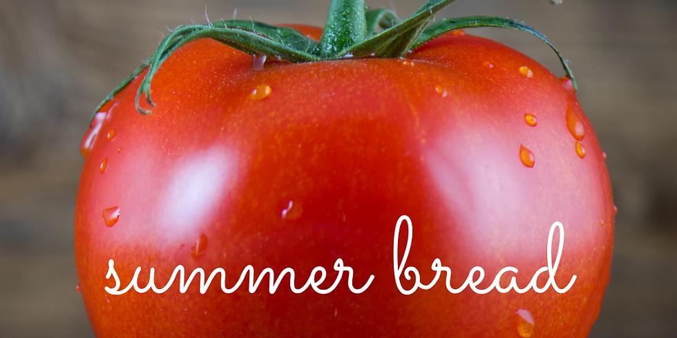 [Atelier Distanciel] Pain à la tomate