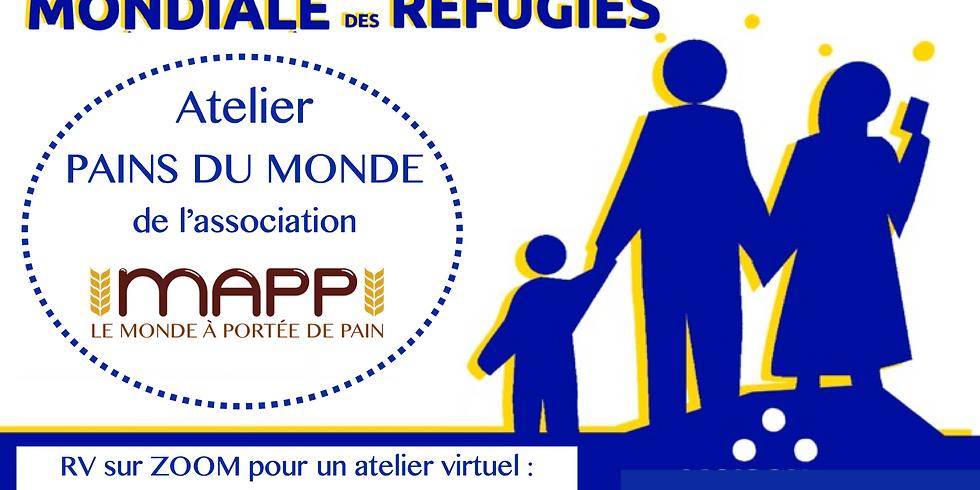 Journée Mondiale des Réfugiés // Atelier Matsot & Knäckebröd