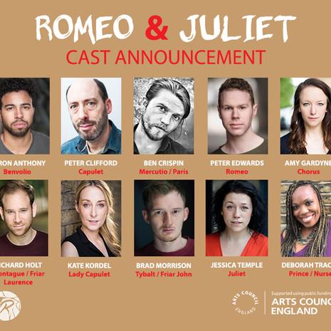Romeo & Juliet : CAST ANNOUNCEMENT