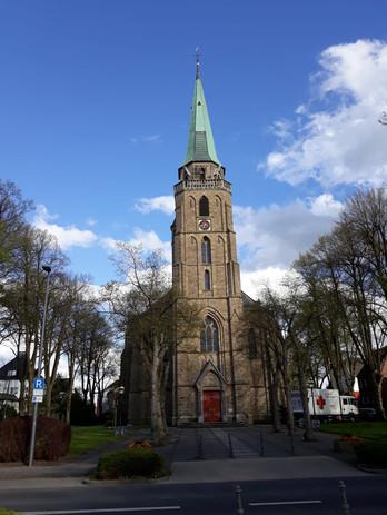 Beleuchtung Für Huntington 2021 Aachen-Brand St. Donatus 01
