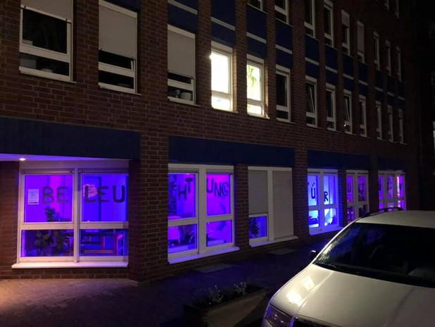 Beleuchtung Für Huntington 2019 Mönchengladbach Paritätischer