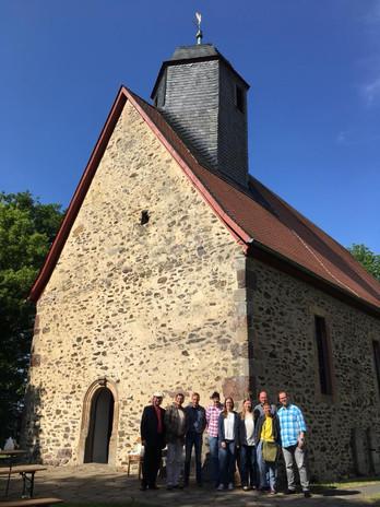 Beleuchtung Für Huntington 2018 Schwalmtal-Hopfgarten Kirche