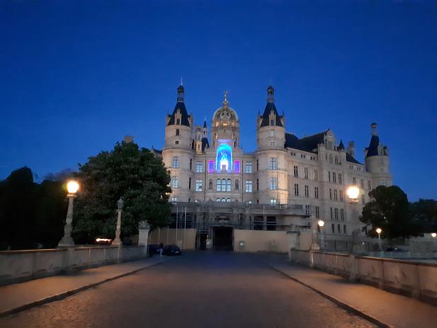 Beleuchtung Für Huntington 2019 Schwerin Schloss Fürst Niklot