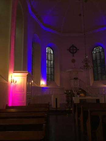 Beleuchtung Für Huntington 2018 Stolberg Finkenbergkirche