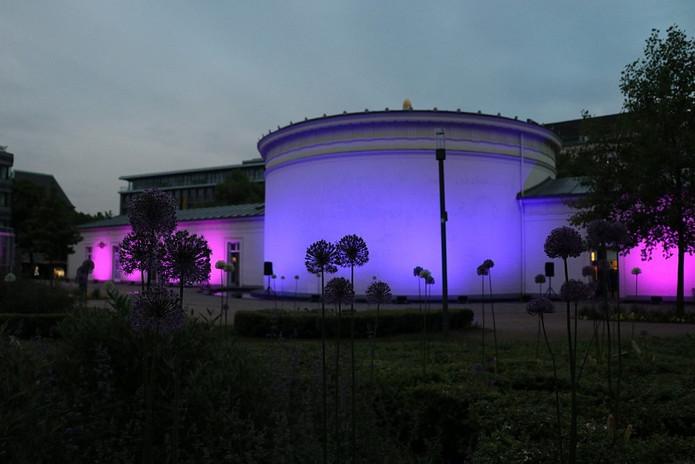 Beleuchtung Für Huntington 2017 Aachen Elisenbrunnen Andreas Cichowski Fotografie