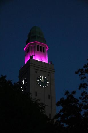 Beleuchtung Für Huntington 2018 Gelsenkirchen-Buer Rathausturm