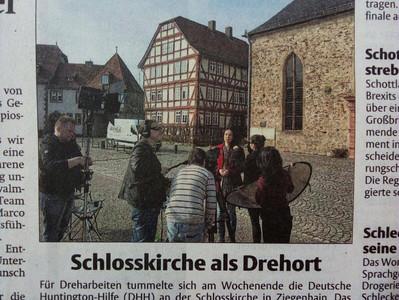 Presse: Beleuchtung für Huntington 2017 in Schwalmstadt