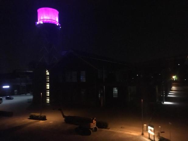 Beleuchtung Für Huntington 2018 Bochum Jahrhunderthalle Wasserturm
