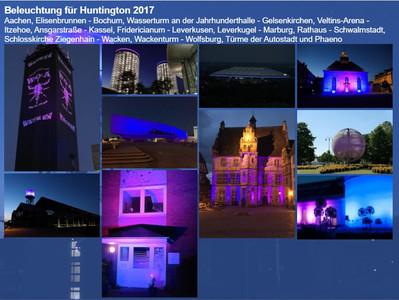 Tolle Fotos der Beleuchtungen aus 2017