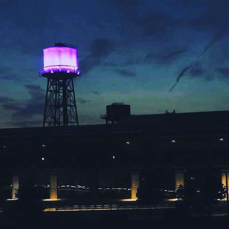 Beleuchtung Für Huntington 2019 Bochum Jahrhunderthalle Wasserturm