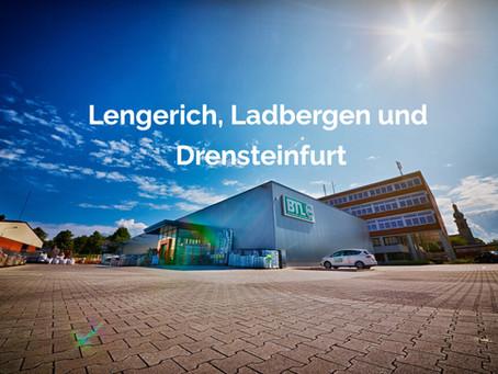 Wir sind weiter für sie da: Standortinfos für Lengerich, Ladbergen und Drensteinfurt