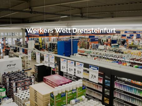 UPDATE: Werkers Welt / BTL Drensteinfurt Mo – Fr: 7.00 – 18.00 Uhr Sa: 7.00 – 16.00 Uhr geöffnet.