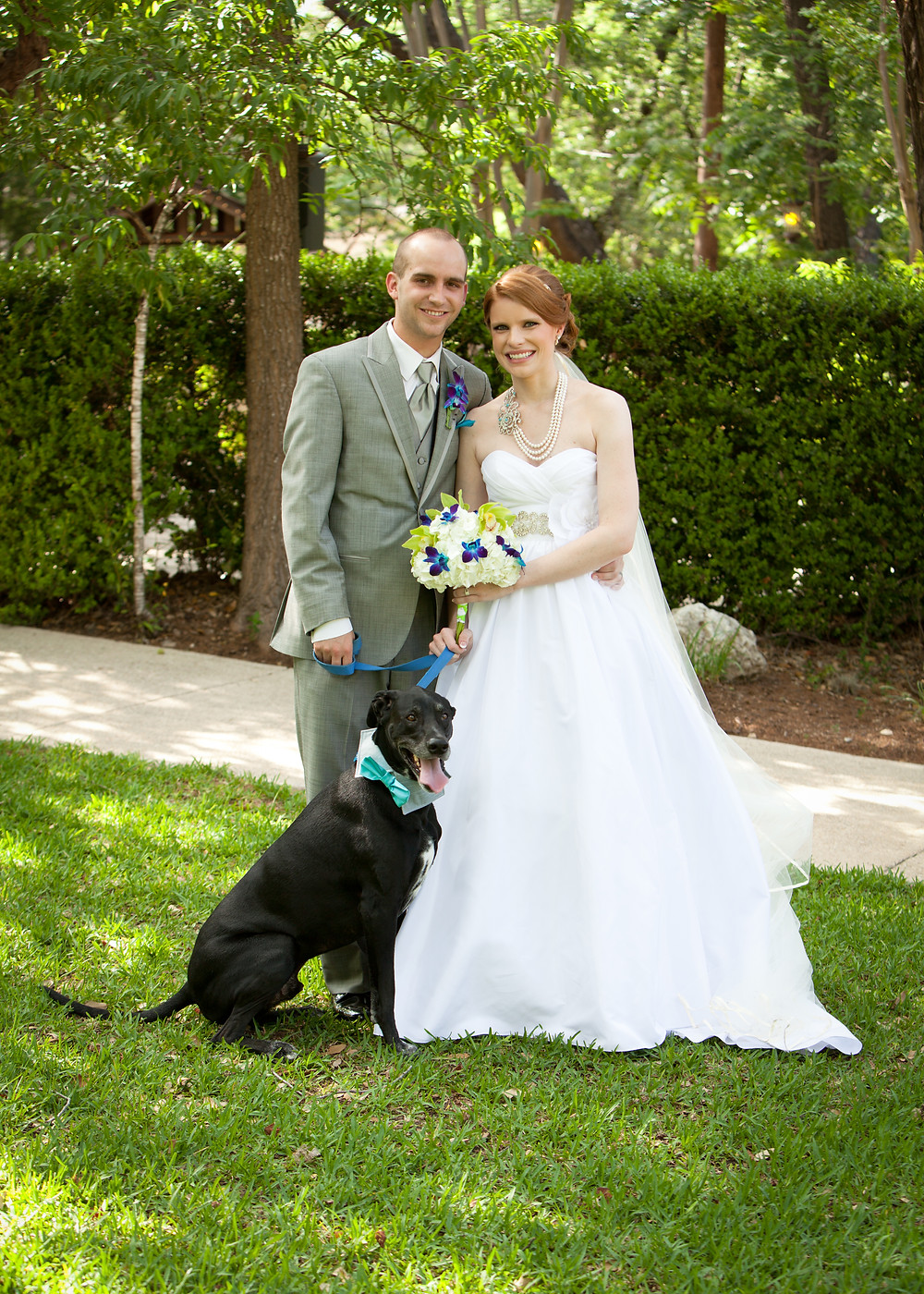 Aurelia and Brent's wedding at Scenic Springs