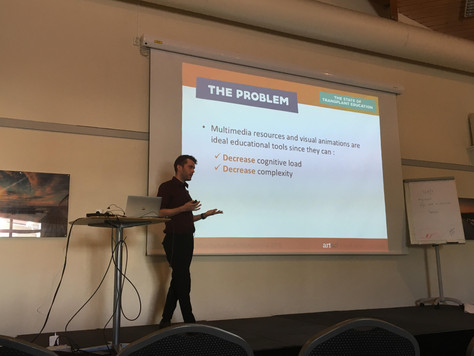 "Presenting ""transPLANTS"" in Göteborg, Sweden"