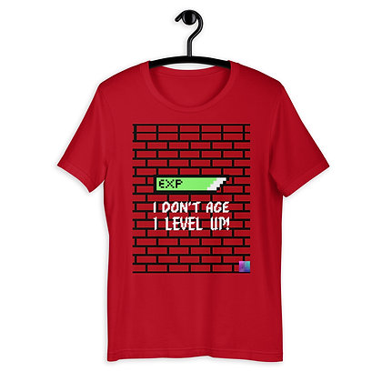 """I LEVEL UP"" Short-Sleeve T-Shirt"