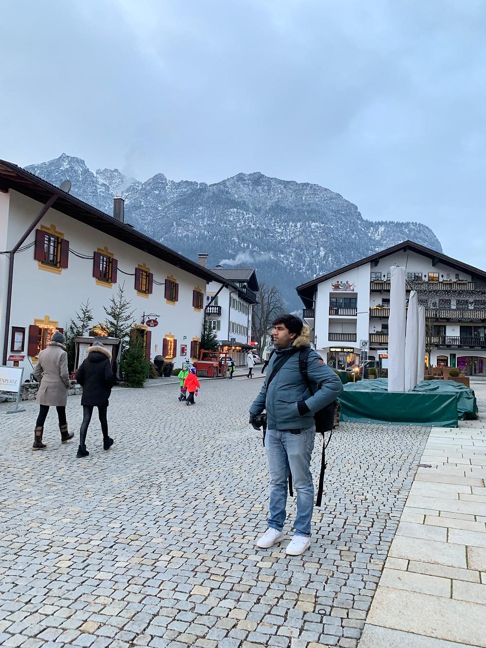Garmisch in Bavaria, Germany