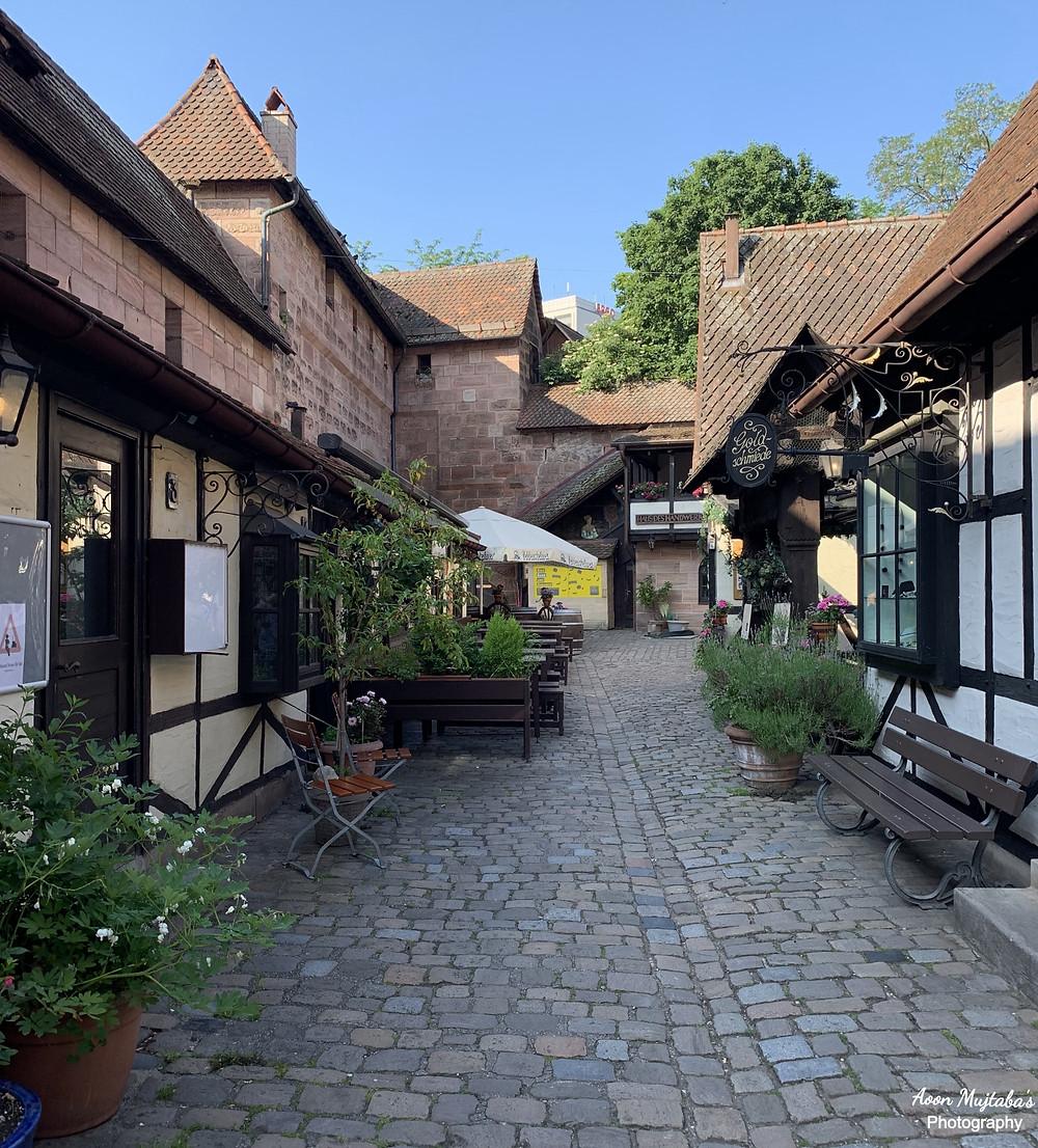 Handwerkerhof, Nuremburg Old town