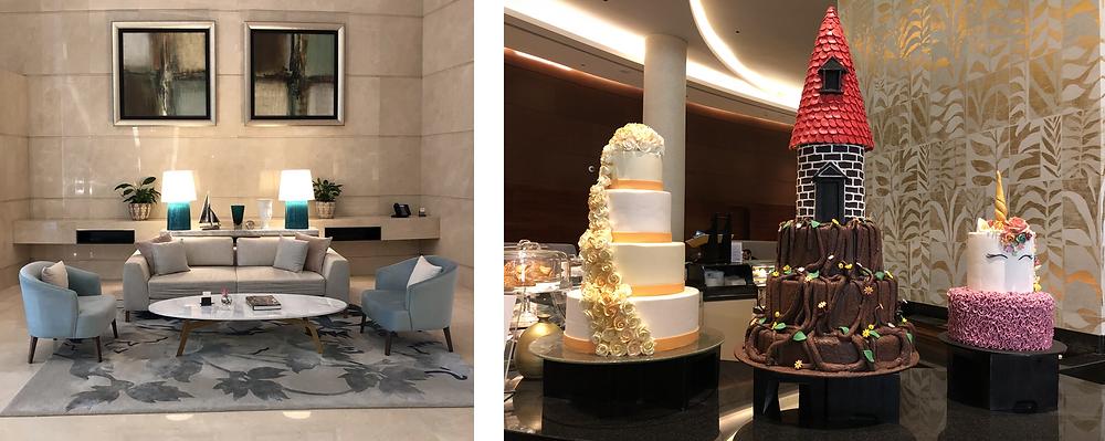 Hotel Lobby, Address Marina Dubai
