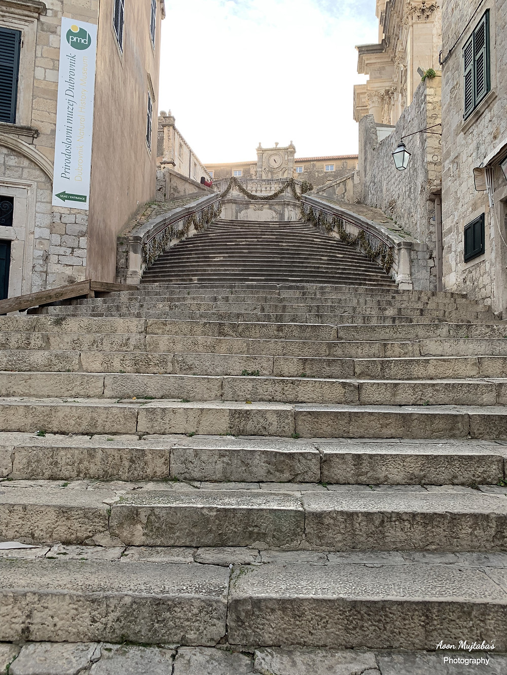 Spanish Steps St. Ignatius Church, Dubrovnik Old town