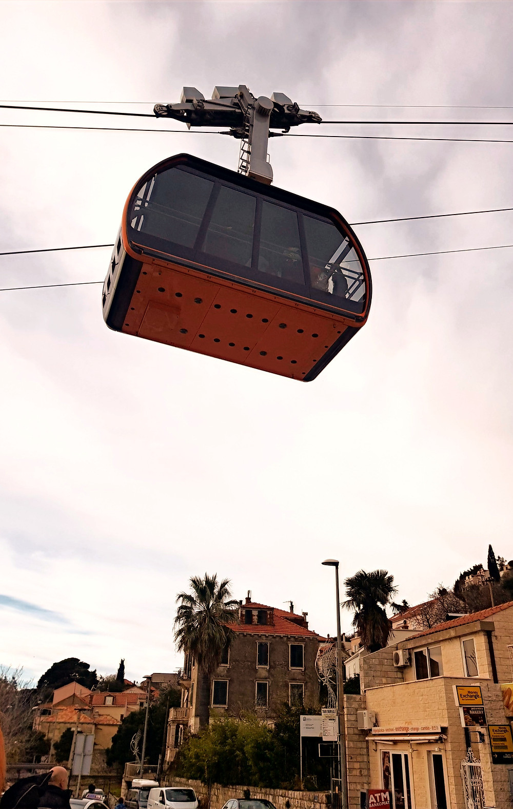 Cable Car ride, Dubrovnik