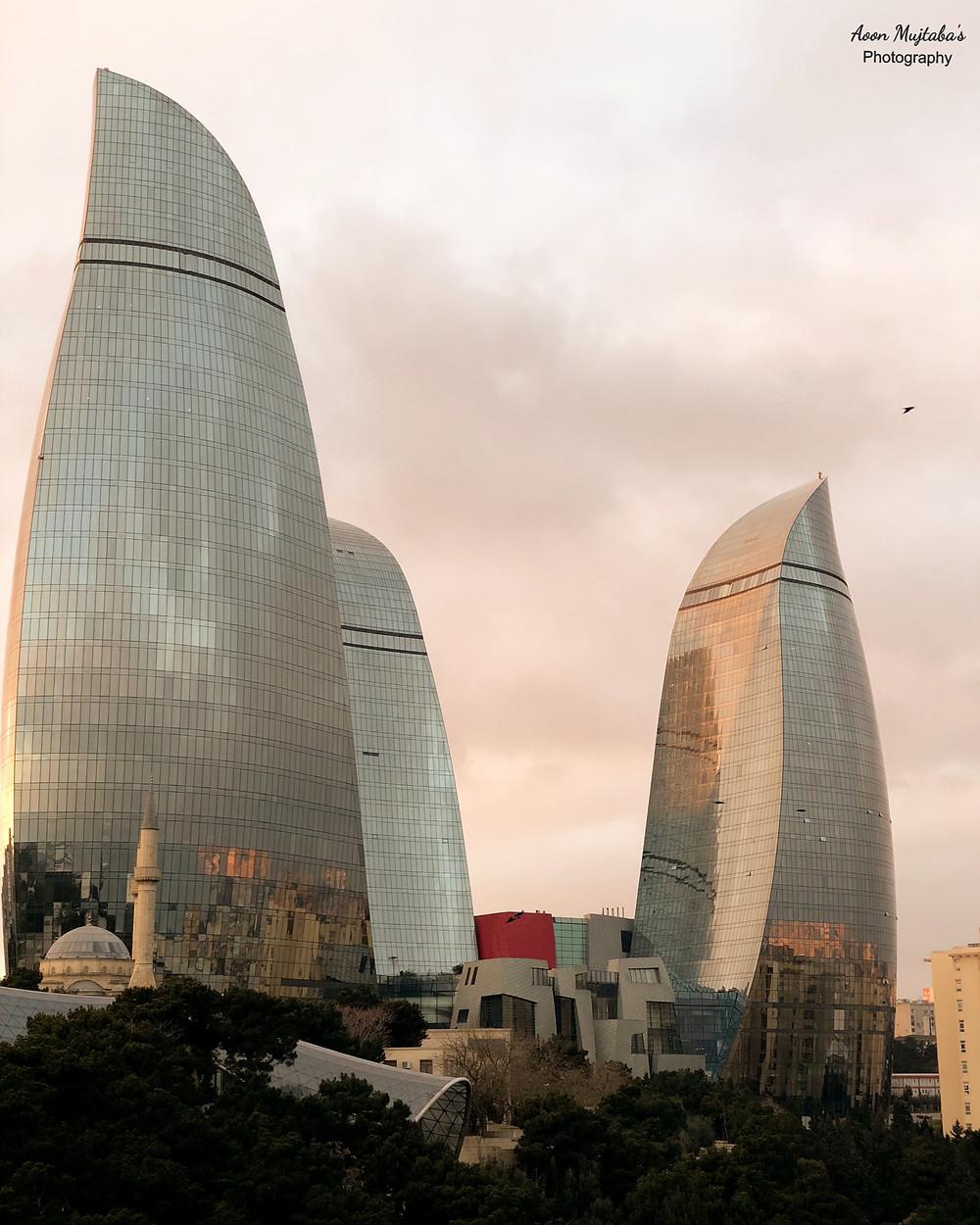 Flame Tower, Baku