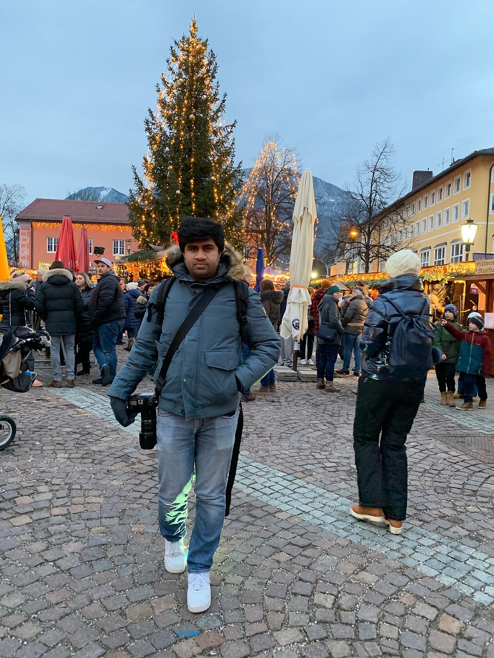 Christmas Market in Bavaria, Germany