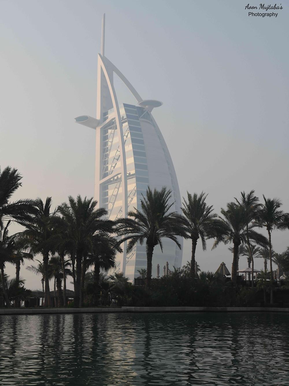 Burj Al Arab from Madinat Jumeirah, Dubai