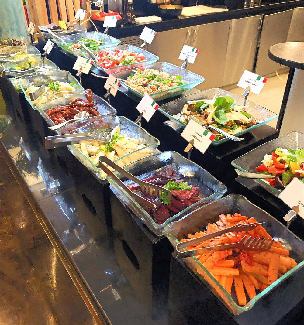 Italian Salad Station, Address Marina Dubai