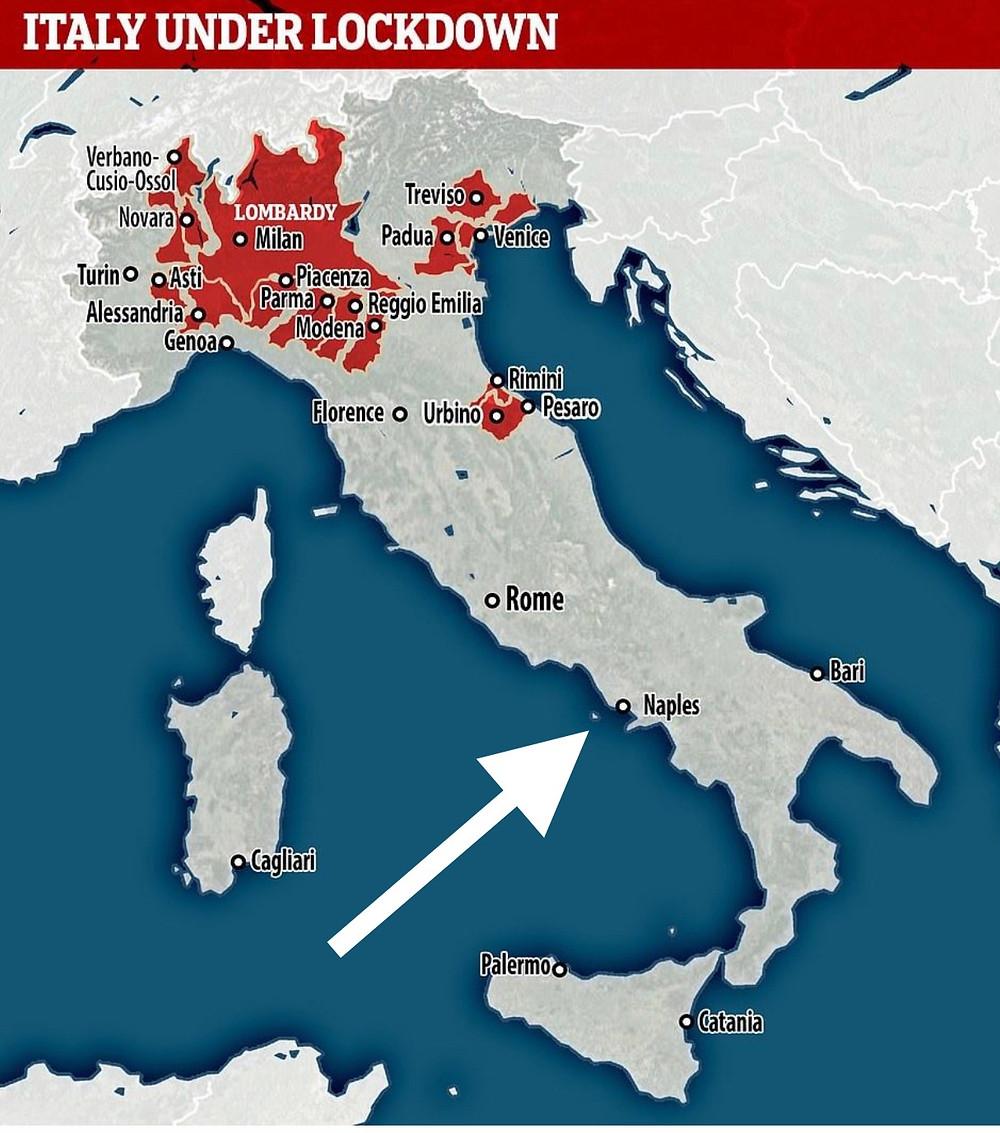 Corona Virus in Italy