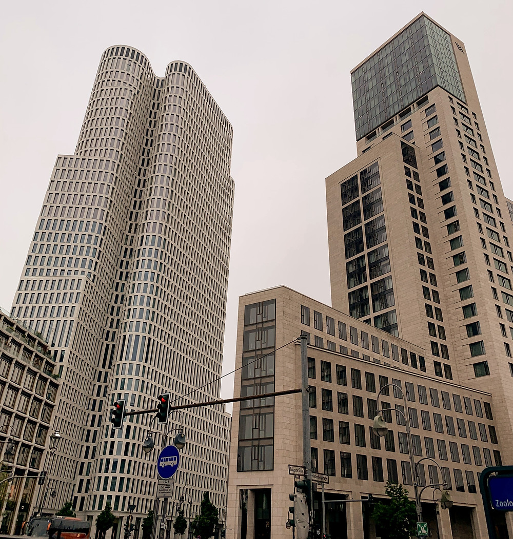 Skyscrapers at Potsdamer Paltz, Berlin