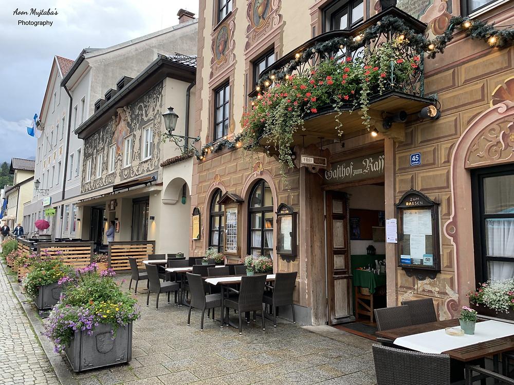Restaurants and cafes in Garmisch Partenkirchen