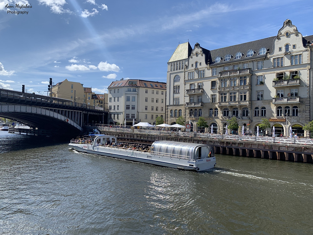 Spree River Cruising in Berlin