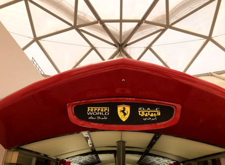 Ferrari World - Yas Island in Abu Dhabi, UAE  | Best Theme Park in UAE